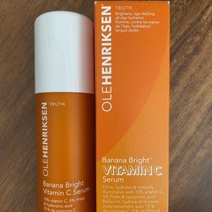 NIB OLE HENRIKSEN BANANA BRIGHT VITAMIN C SERUM